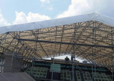 Temporary Roof Systems